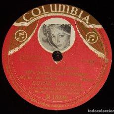 Discos de pizarra: DISCO 78 RPM - COLUMBIA - LUISA ORTEGA - LA COPLA NUEVA - ZAMBRA - NO PUEDO VIVIR CONTIGO - PIZARRA. Lote 182264502