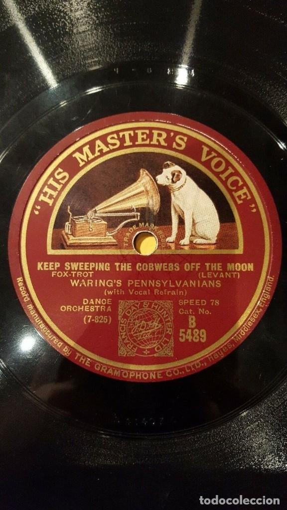 DISCO 78 RPM - HMV - WARING´S PENNSYLVANIANS - LEVANT - BERLIN - I CAN´T DO WITHOUT YOU - PIZARRA (Música - Discos - Pizarra - Jazz, Blues, R&B, Soul y Gospel)