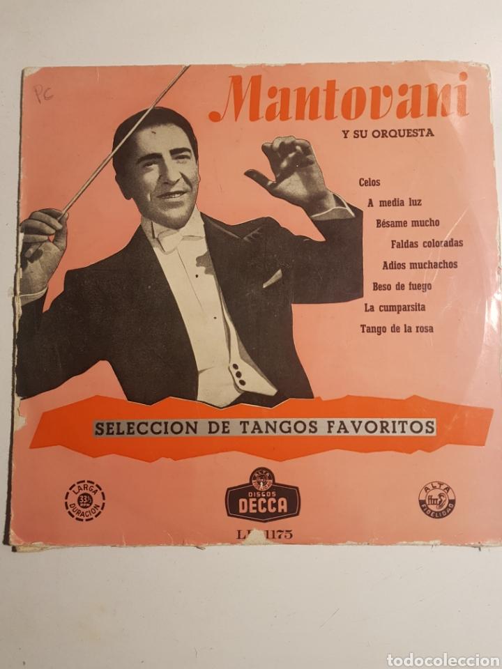 MANTOVANI Y SU ORQUESTA (Música - Discos - Pizarra - Bandas Sonoras y Actores )