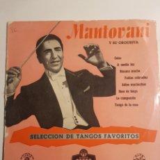 Discos de pizarra: MANTOVANI Y SU ORQUESTA. Lote 182725471