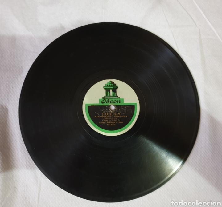 Discos de pizarra: Disco de pizarra Jotas La virgen del Pilar - Foto 2 - 182871718