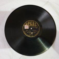Discos de pizarra: DISCO DE PIZARRA POR LA BANDA REGAL Y CORO 78 RPM. Lote 182872463