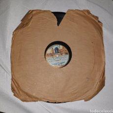 Discos de pizarra: DISCO DE PIZARRA ODEON COPLAS. Lote 182878911