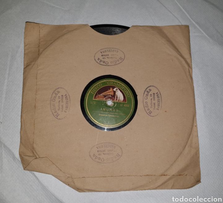 DISCO DE PIZARRA ORQUESTA CASABLANCA (Música - Discos - Pizarra - Otros estilos)
