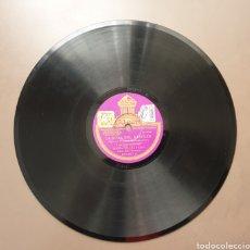 Discos de pizarra: DISCO DE PIZARRA ODEON LA ROSA DEL AZAFRÁN 78 RPM. Lote 182961086