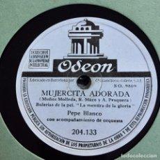 Discos de pizarra: PEPE BLANCO GRAN LOTE 13 DISCOS. Lote 183169706