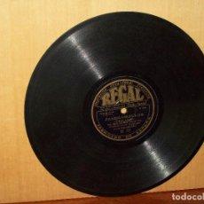 Discos de pizarra: FANDANGUILLOS (JOSE MUÑOZ) + MEDIA GRANADINA - GUITARRA NIÑO RICARDO - VINILO PIZARRA. Lote 183388981