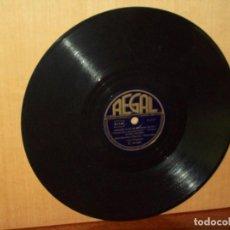 Discos de pizarra: ROSE DE BELLEVILLE + CIRIZIE ROSE ET POMMIER - ACORDEON MAURICE ALEXANDER - VINILO PIZARRA. Lote 183389271