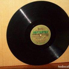 Discos de pizarra: SCHWEDENMUDEL + LUXEMBURG-POLKA - ORQUESTA KARL LOUBE - VINILO PIZARRA. Lote 183389477
