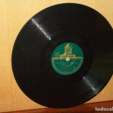 Discos de pizarra: SIETE DIAS DE SOLEDAD + PA-PAYA, MAMA - BONNIE LOU ORQUESTA DE CUERDA - VINILO PIZARRA. Lote 183390563