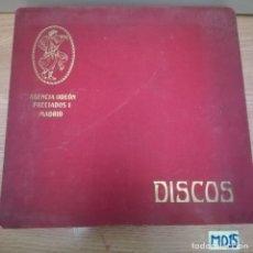Discos de pizarra: LOTE DE DISCOS DE PIZARRA VER FOTOS. Lote 184100585