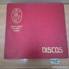 Discos de pizarra: LOTE DE DISCOS DE PIZARRA. Lote 184101565