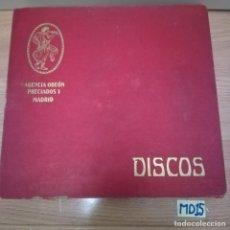 Discos de pizarra: LOTE DE DISCOS PIZARRA. Lote 184102105