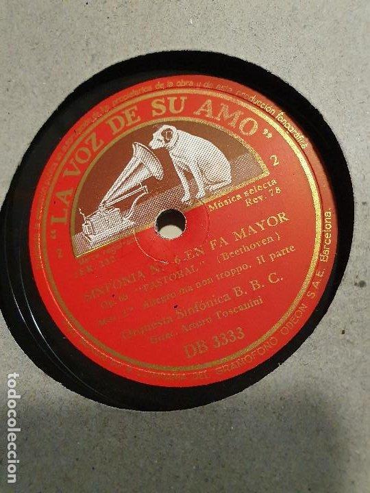 Discos de pizarra: ALBUM 12 DISCOS DE PIZARRA LA VOZ DE SU AMO BEELTHOVEN - Foto 2 - 184207013
