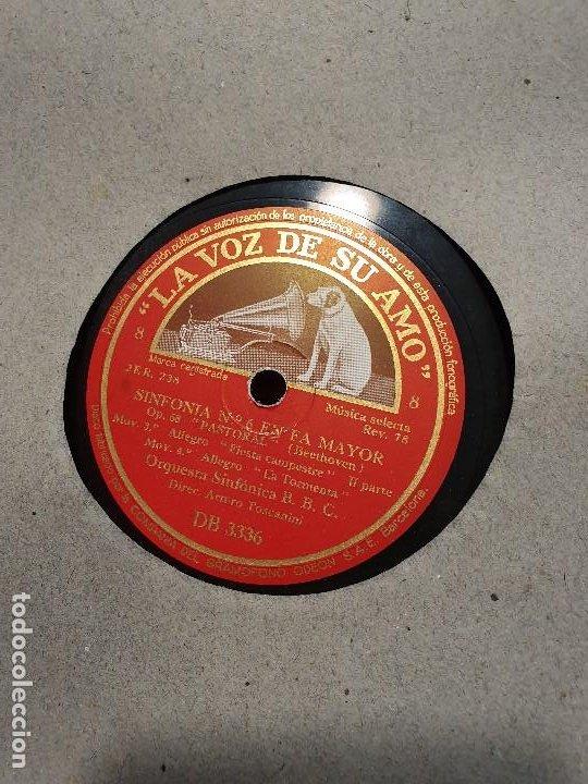 Discos de pizarra: ALBUM 12 DISCOS DE PIZARRA LA VOZ DE SU AMO BEELTHOVEN - Foto 5 - 184207013