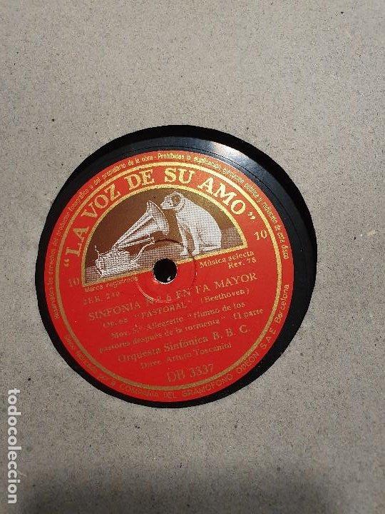 Discos de pizarra: ALBUM 12 DISCOS DE PIZARRA LA VOZ DE SU AMO BEELTHOVEN - Foto 6 - 184207013