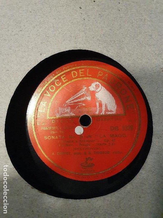 Discos de pizarra: ALBUM 12 DISCOS DE PIZARRA LA VOZ DE SU AMO BEELTHOVEN - Foto 9 - 184207013
