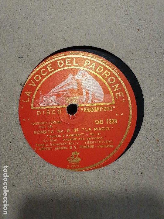 Discos de pizarra: ALBUM 12 DISCOS DE PIZARRA LA VOZ DE SU AMO BEELTHOVEN - Foto 10 - 184207013