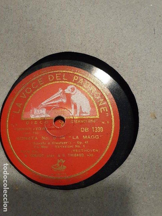 Discos de pizarra: ALBUM 12 DISCOS DE PIZARRA LA VOZ DE SU AMO BEELTHOVEN - Foto 11 - 184207013