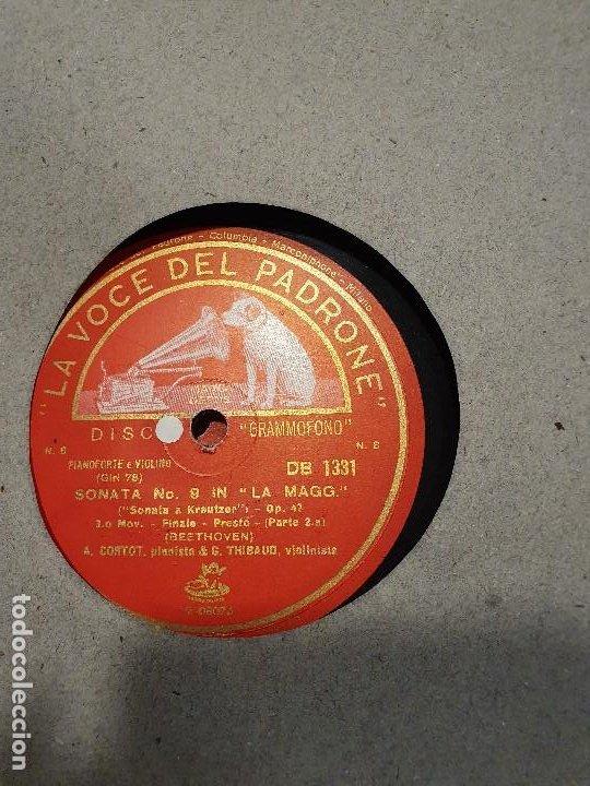 Discos de pizarra: ALBUM 12 DISCOS DE PIZARRA LA VOZ DE SU AMO BEELTHOVEN - Foto 12 - 184207013
