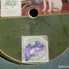 Discos de pizarra: DISCO DE PIZARRA - LA VOZ DE SU AMO AE 2050 - LA ARGENTINITA - SOY MUJER - TRANVIAS SEVILLANOS -. Lote 184236845