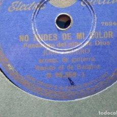 Discos de pizarra: DISCO PIZARRA - PARLOPHON B. 25.358 - JOSÉ CEPERO - NO DUDES DE MI COLOR - VIVA CHIQUILLA Y BONETE. Lote 184387978