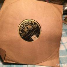 Discos de pizarra: ANTIGUO DISCO DE PIZARRA MARCA POLYDOR , MOMENT MUSICAL / CANCIÓN DE CUNA AÑOS 20-30. Lote 184460188