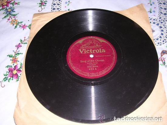 DISCO VICTROLA SONG OF THE CHIMES / BOHEMIAN CRADLE SONG 652 (Música - Discos - Pizarra - Bandas Sonoras y Actores )