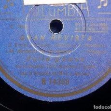 Discos de pizarra: DISCO PIZARRA - COLUMBIA R 14358 - CELIA GAMEZ - AL ALCANCE DE TU MANO - LA FLORISTA SEVILLANA. Lote 184820786