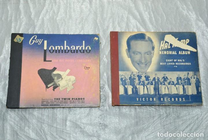 2 ALBUMES PARA DISCOS DE PIZARRA - ALBUM (Música - Discos - Pizarra - Otros estilos)