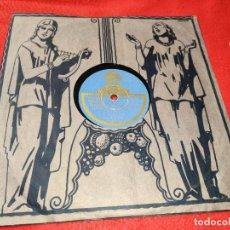 Discos de pizarra: NIÑO ISIDRO&MANOLO BADAJOZ MIRA SI ES NOBLE MI JACA/QUE LAS ESTRELLAS VAN AL ALTAR 78RPM 25 CTMS. Lote 199424621