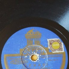 Discos de pizarra: DISCO 78 RPM - ODEON - CAROLINA CLUB - SOUTHERN MELODY - ORQUESTAS - TEXAS - ANGELA MIA - PIZARRA. Lote 186817015