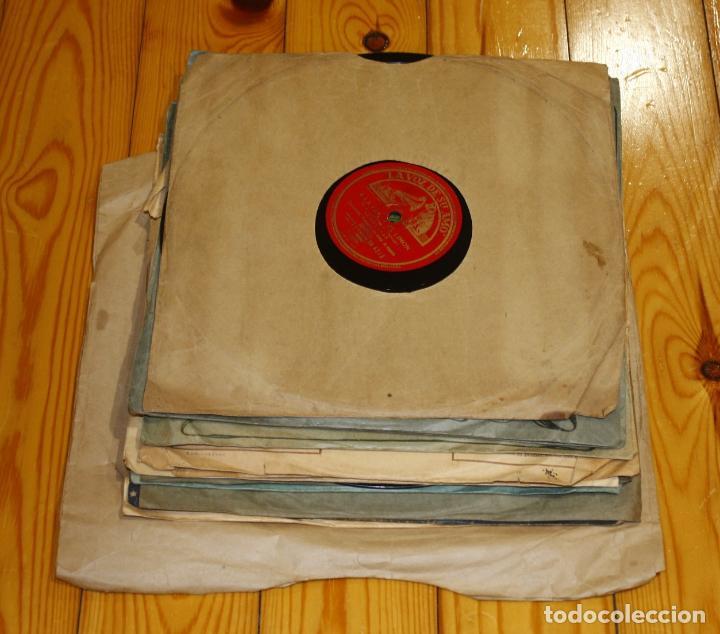 Discos de pizarra: 13 DISCOS DE PIZARRA - Foto 2 - 168873712