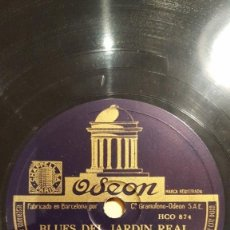 Discos de pizarra: DISCO 78 RPM - ODEON - COUNT BASIE - ORQUESTA - BLUES DEL JARDIN REAL - THE JITTERS - JAZZ - PIZARRA. Lote 186869805