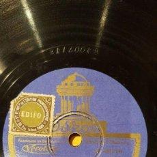 Discos de pizarra: DISCO 78RPM - ODEON - FRED SUGAR HALL - SUGAR BABIES - CONSTANTINOPLA - CHILLI POM POM PEE - PIZARRA. Lote 187030391