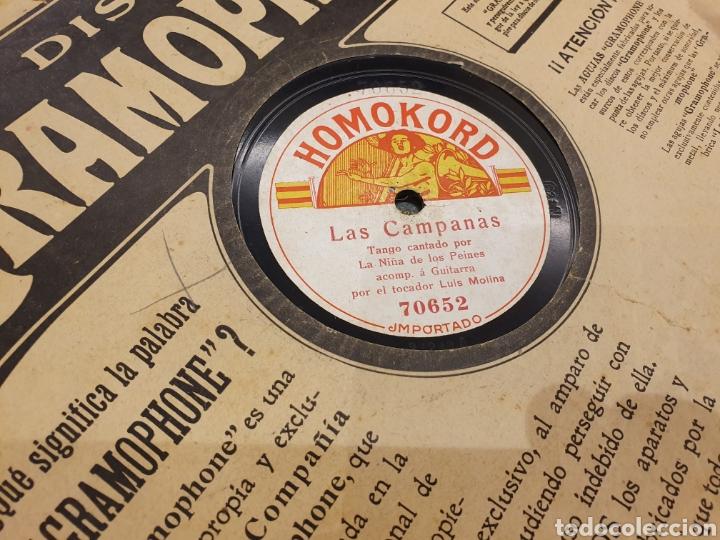 Discos de pizarra: 78 RPM FLAMENCO LA RUBIA - Foto 2 - 187208938