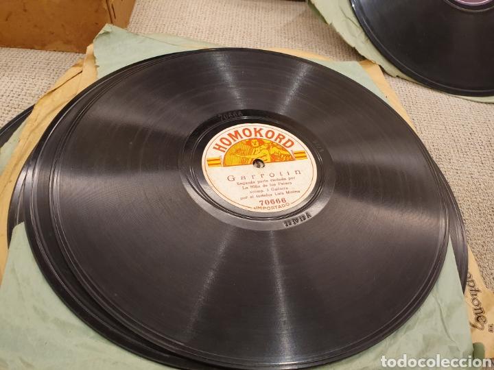Discos de pizarra: 78 RPM FLAMENCO LA RUBIA - Foto 3 - 187208938