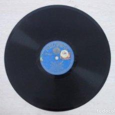 Discos de pizarra: ANTIGUO DISCO DE PIZARRA JOTAS CONSUELO Y CECILIO NAVARRO. Lote 187214221