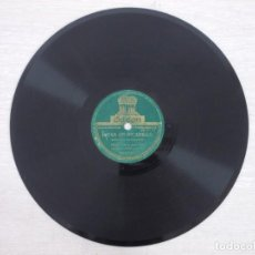 Discos de pizarra: ANTIGUO DISCO DE PIZARRA JOTAS DE PICADILLO DUO FELISA GALE Y JOSE OTO. Lote 187214997