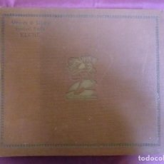 Discos de pizarra: ALBUM DISCOS DE PIZARRA MARCA PARLOPHON,ALMACEN DE MUSICA,AURELIANO BOTELLA(ELCHE).. Lote 187425521