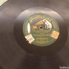 Discos de pizarra: 78 RPM CARMEN FLORES/ CUPLÉ. Lote 187445837