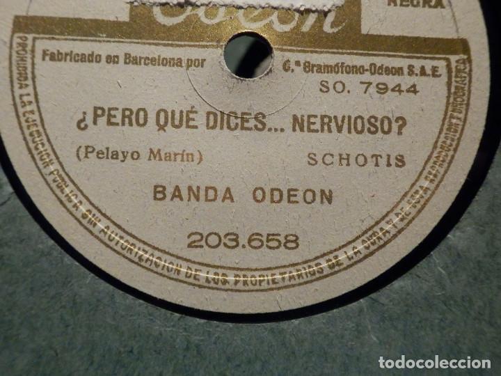 Discos de pizarra: Disco Pizarra Odeon 203.658 - Vuelta al Ruedo - ¿Pero que dices... Nervioso? Banda Odeon - Foto 2 - 187630378