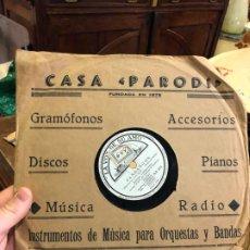Discos de pizarra: DISCO PIZARRA LA VOZ DE SU AMO - FANDANGOS - JUANITO VALDERRAMA. Lote 189351655