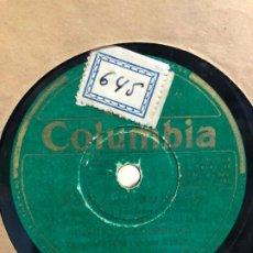Discos de pizarra: DISCO PIZARRA POR LAS BUENAS - JUANITO VALDERRAMA. Lote 189353426