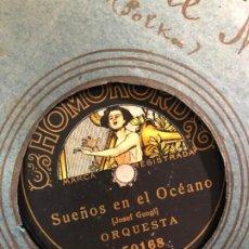 Discos de pizarra: DISCO PIZARRA SUEÑOS EN EL OCEANO (JOSEF GUNGL) - ORQUESTA. Lote 189354781