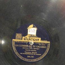 Discos de pizarra: DISCO PIZARRA LA LUMBRE DE TU CIGARRO. Lote 189357347