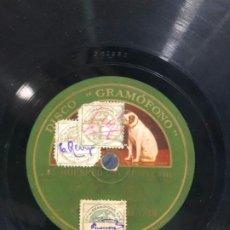 Discos de pizarra: DISCO PIZARRA EL HUESPED DEL SEVILLANO. Lote 189357732