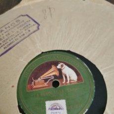 Discos de pizarra: DISCO DE PIZARRA LA REBORTOSA. BOHEMIOS. Lote 189806596