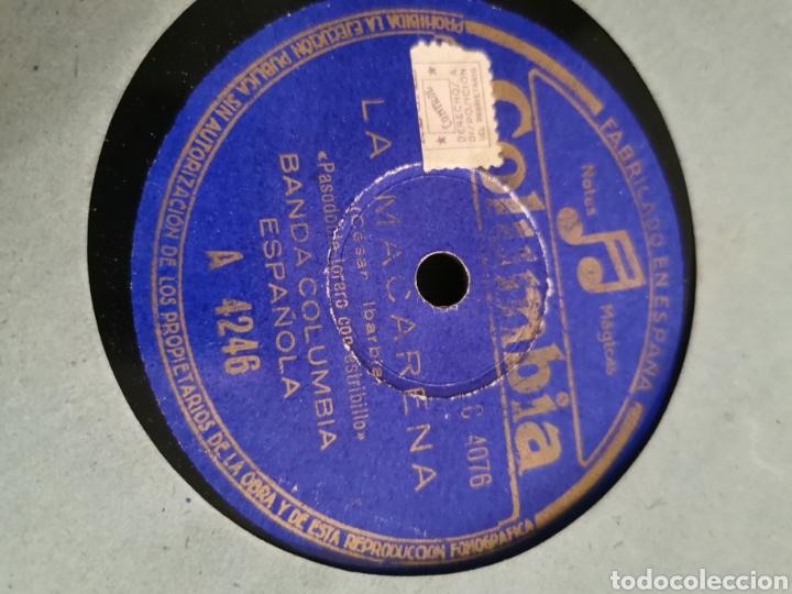 Discos de pizarra: Disco de pizarra la macarena. Currito de la cruz - Foto 2 - 189809475