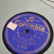 Discos de pizarra: DISCO DE PIZARRA LA MACARENA. CURRITO DE LA CRUZ. Lote 189809475
